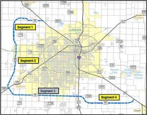 TxDot Loop 88 Map